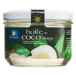 Ecological, coldpressed coconut oil